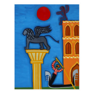 The Great Lion of Venice 2006 Postcard