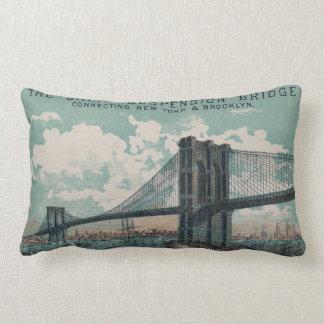 The Great Suspension Bridge Lumbar Pillow
