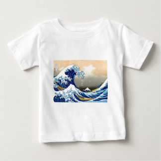 The Great Wave - Hokusai Baby T-Shirt