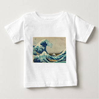 The Great Wave off Kanagawa Baby T-Shirt