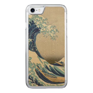 The Great Wave off Kanagawa Carved iPhone 8/7 Case
