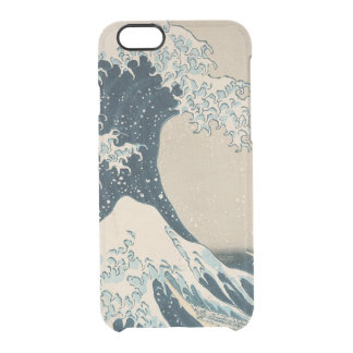 The Great Wave off Kanagawa Clear iPhone 6/6S Case