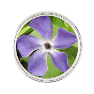 The Greater Periwinkle Lapel Pin