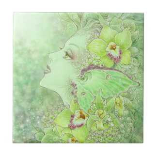 The Green Faery Tile
