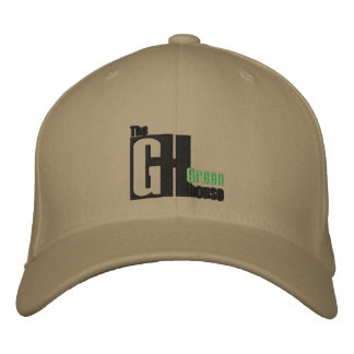 The Greenhouse cap Embroidered Hat