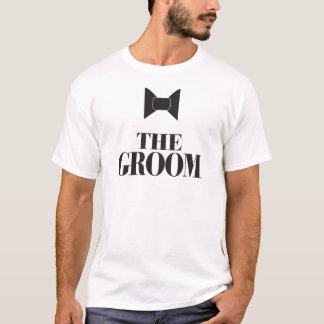 The Groom Bowtie T-Shirt