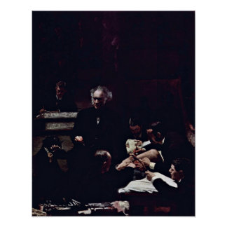 The Gross Clinic by Thomas Cowperthwait Eakins Posters