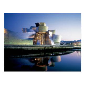 The Guggenheim Museum Bilbao Postcard