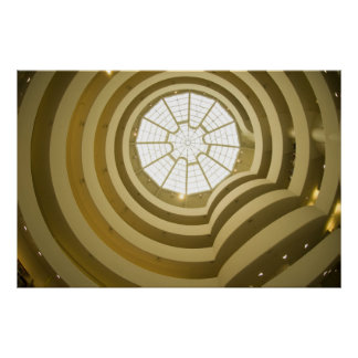 The Guggenheim Museum - Poster