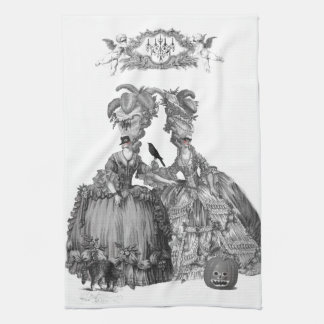 The Halloween Ball Tea Towel