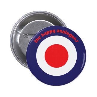 The Happy Analogues Bullseye Button