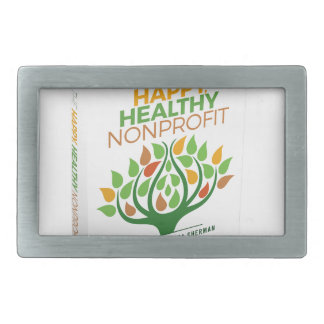 The Happy, Healthy Nonprofit 3D Cover Belt Buckle