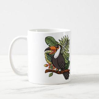 The Happy Toucan Basic White Mug