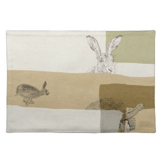 The Hare and the Tortoise An Aesop's Fable Placemat