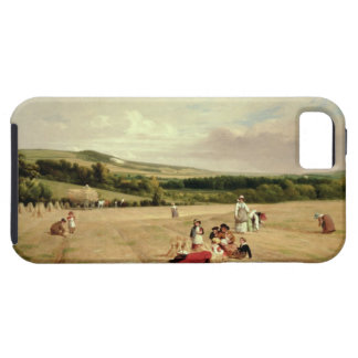 The Harvest Field (oil on canvas) iPhone 5 Cases