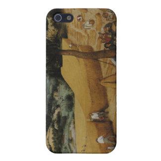 The Harvesters, 1565 - Pieter Bruegel the Elder iPhone 5 Case