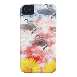 The heart 3 which ranges the empyrean Case-Mate iPhone 4 case