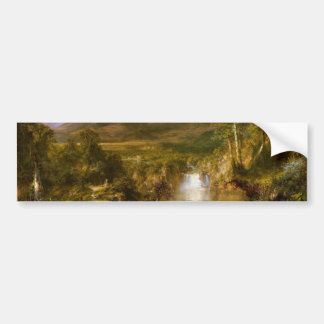 The Heart of the Andes by Frederic Edwin Church Bumper Sticker