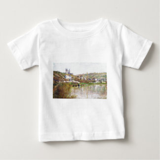 The Hills of Vetheuil by Claude Monet Baby T-Shirt