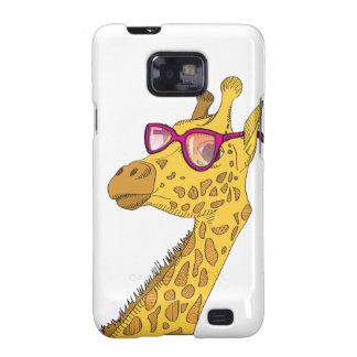 The Hipster Giraffe Galaxy SII Case