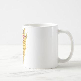 The Hipster Giraffe Coffee Mug