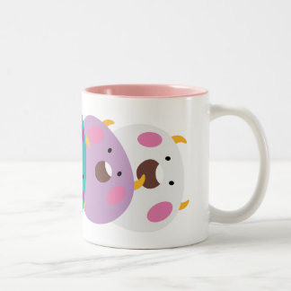 The ho it is roundly the zu ice magnet Two-Tone coffee mug