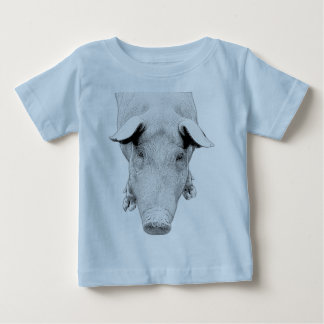 The Hog in Black and White Baby T-Shirt
