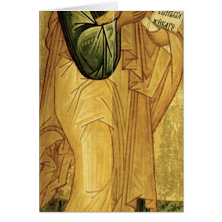 The Holy Apostle Peter, Russian icon Card