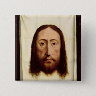 The Holy Face, c.1450-60 15 Cm Square Badge