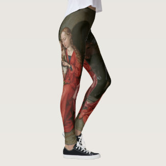 """The Holy Family"" art leggings"