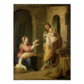 The Holy Family, c.1660-70 Poster