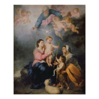 The Holy Family or The Virgin of Seville Poster