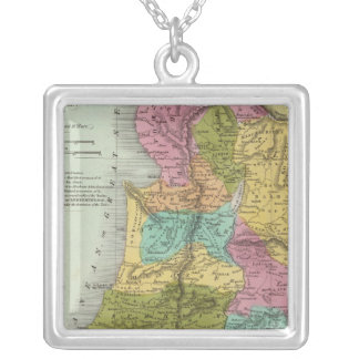 the Holy Land of Palestine Silver Plated Necklace
