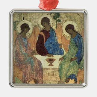 The Holy Trinity, 1420s (tempera on panel) Christmas Ornament