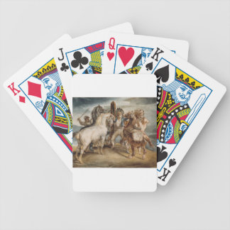 The Horse Market by Theodore Gericault Bicycle Poker Deck