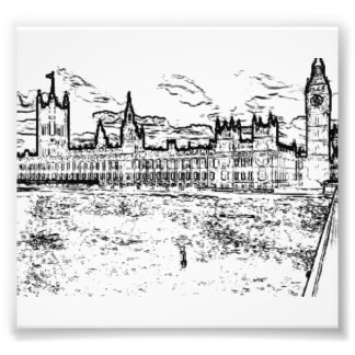 The Houses of Parliament, Westminster, London Photograph
