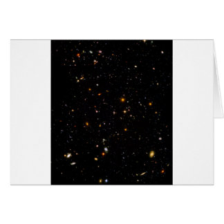 The Hubble Ultra-Deep Field Card