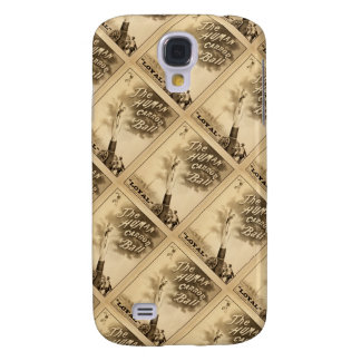 The Human Cannon Ball Vintage Circus Act Victorian Galaxy S4 Cover