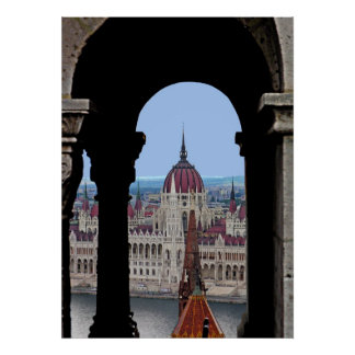 "The Hungarian Parliaments ""in the Frame""! Poster"