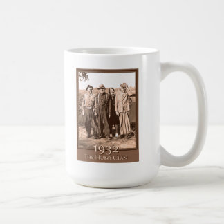 The Hunt Clan 1932 Classic White Coffee Mug