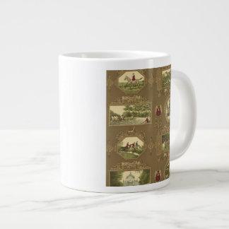 The Hunt Coffee Mug 20 Oz Large Ceramic Coffee Mug