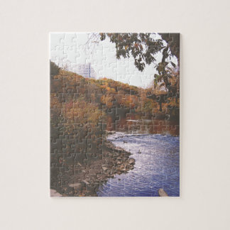 The Huron River Jigsaw Puzzle