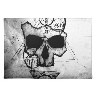 The Hyman Skull Placemat