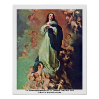 The Immaculate Conception Of The Venerable Ones Poster