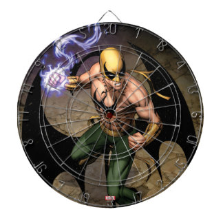 The Immortal Iron Fist Dartboard