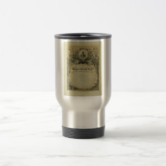 The Inaugural Address of President Abraham Lincoln Travel Mug