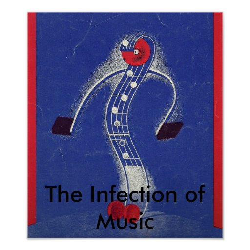 The Infection of Music Print