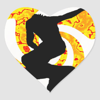 THE INLINE HEAT HEART STICKERS