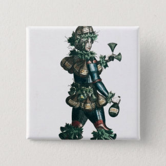 The Innkeeper, allegorical costume design 15 Cm Square Badge
