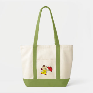 The inparusutoto bo u it does, child red tote bag